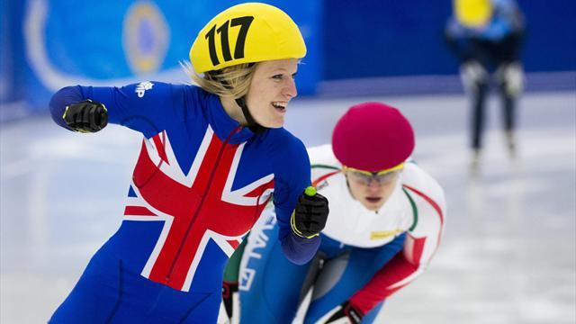 Short Track - Second gold sees Christie finish runner-up at Europeans