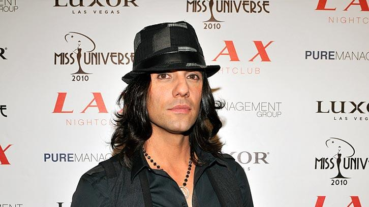 Criss Angel Miss Universe Prty