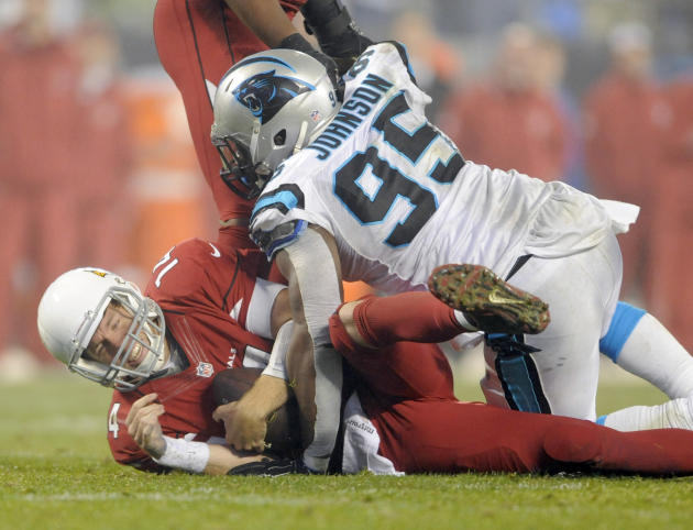 Panthers beat Cards for 1st playoff win in 9 years