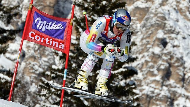 Alpine Skiing - Vonn back on top in Cortina downhill