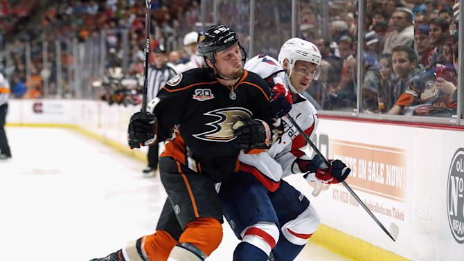 Washington Capitals v Anaheim Ducks