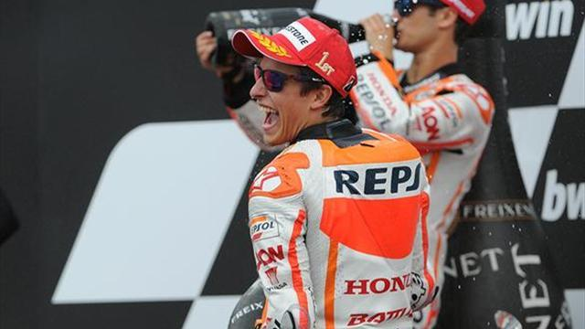 Motorcycling - MotoGP Brno: Marquez breaks Roberts' rookie record
