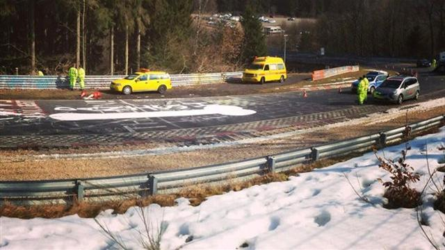 Motorsports - Iconic Nurburgring closed due to naughty graffiti
