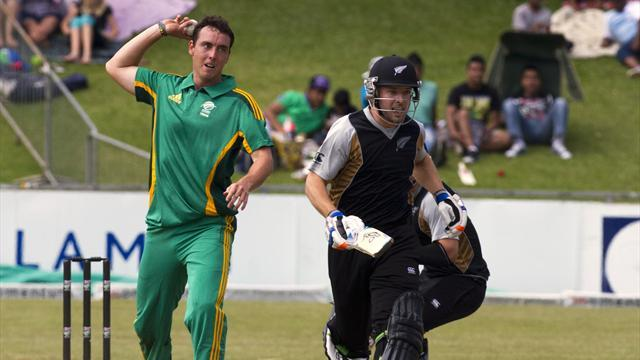 Cricket - South Africa call Abbott into one-day squad