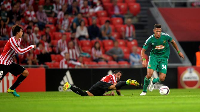 Football Soccer - Athletic Bilbao v Rapid Wien - UEFA Europa League Group Stage - Group F