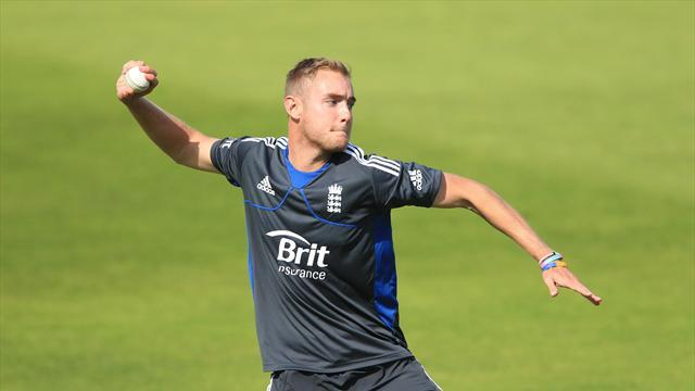 Cricket - Cook delighted by Broad form