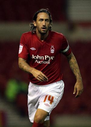Jonathan Greening is on loan at Barnsley from Nottingham Forest