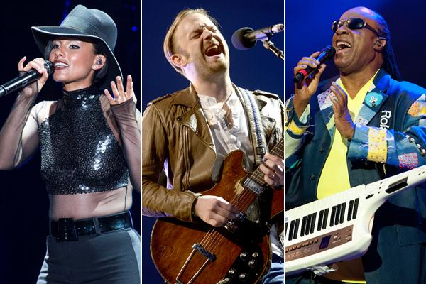 Global Citizen Festival Books Alicia Keys, Stevie Wonder, John Mayer, Kings of Leon