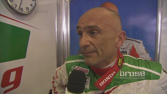 WTCC - Tarquini spends night in hospital