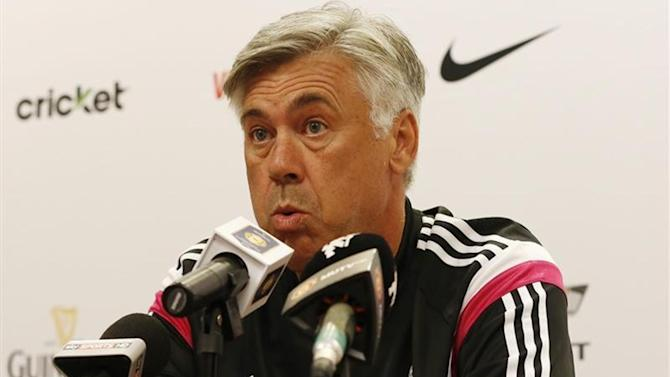 Football - Ancelotti not bothered by third friendly defeat for Real