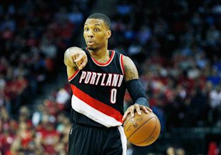 Damian Lillard's extension will start with the 2016-17 season. (Getty Images)