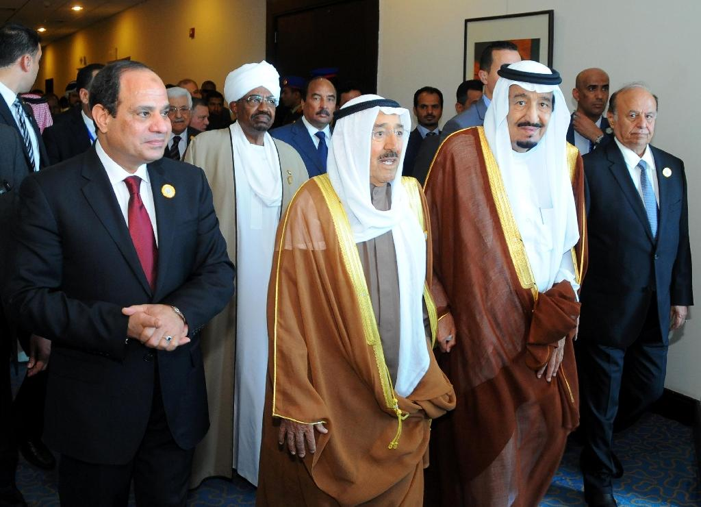 Arab leaders agree joint military force