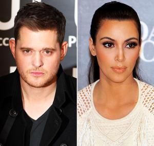 Michael Buble Slams Kim Kardashian at Concert