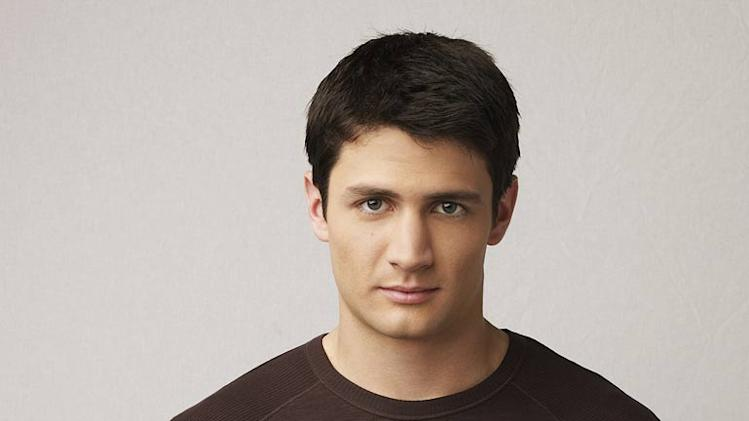 James Lafferty as Nathan Scott on One Tree Hill.
