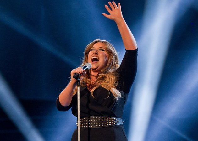 The Voice UK winner, Leanne Mitchell