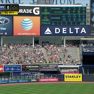 A-Rod's solo homer