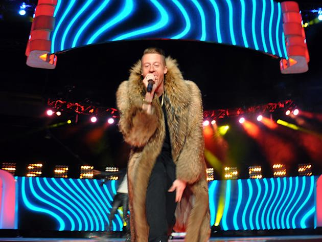 Macklemore And Ryan Lewis, Jennifer Hudson And Magic Johnson With 15,000 Youth At We Day Seattle