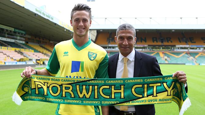 Soccer - Norwich City Unveil Ricky van Wolfswinkel - Carrow Road
