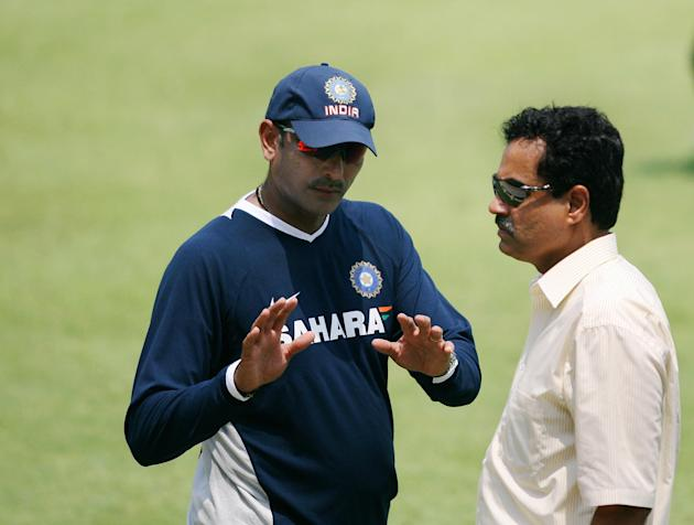 Indian chief selecter Dilip Vengsarkar (
