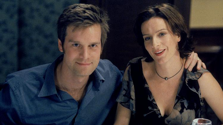 Peter Krause and Rachel Griffiths star in Six Feet Under on HBO.