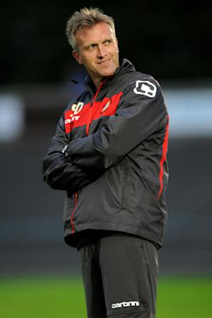 Steve Davis, pictured, wants his players to be inspired by Ashley Westwood and Nick Powell