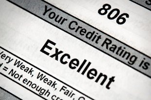 Your financial future depends on a good credit rating.