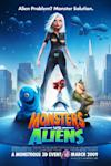Poster of Monsters vs. Aliens
