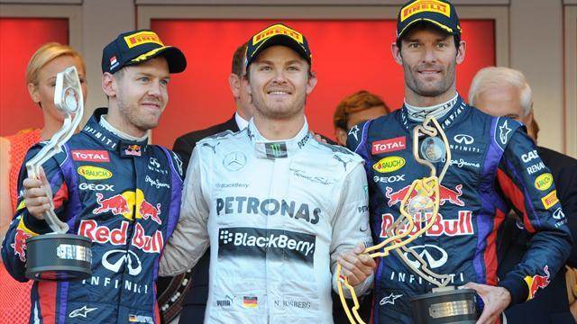 Formula 1 - Rosberg wins incident-packed Monaco Grand Prix