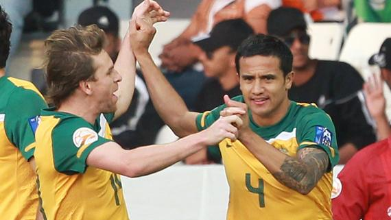Tim Cahill believes the English Premier League looms as Brett Holman's 'biggest test'