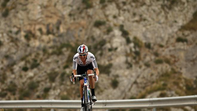 Team SKY Rider Bradley Wiggins Of Great Britain Trains In The Mountains Of Mallorca In Preparation For The 2012 Tour  Getty Images