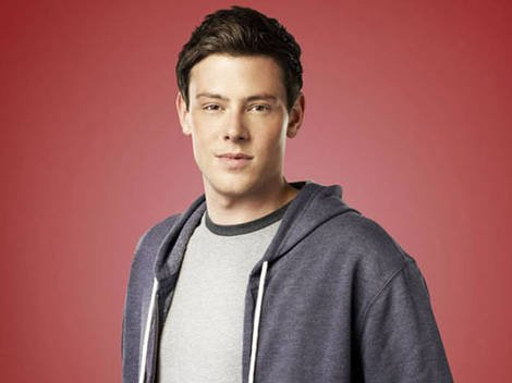 The late Cory Monteith as Glee's Finn Hudson