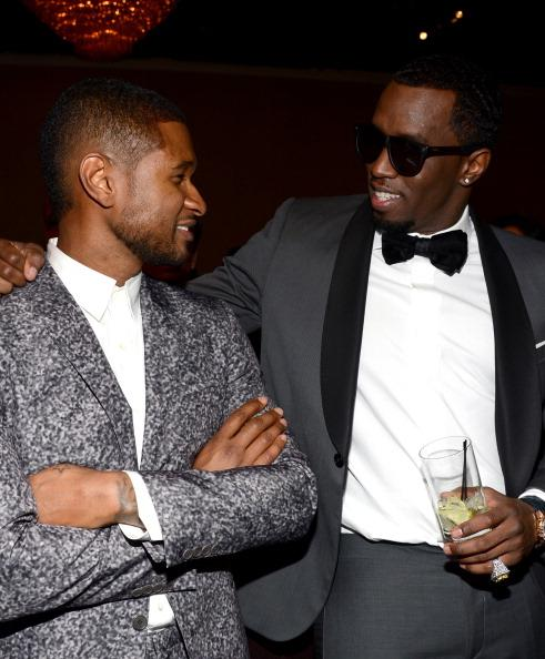 Usher at Clive Davis Party: L.A. Reid Talked Me Out of the Name 'Cha-Cha' (Photos)