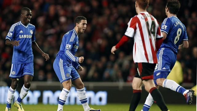 Premier League - Hazard double helps Chelsea edge thriller
