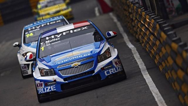 WTCC - Huff leads Chevrolet domination in Macau FP2