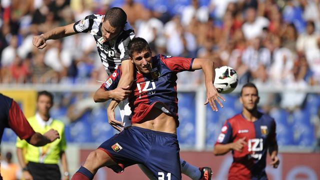 Juventus sink Genoa with second-half blitz