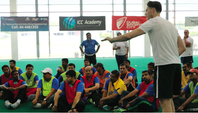 Going Out: Get your Level 2 cricket coaching qualification at ICC Academy