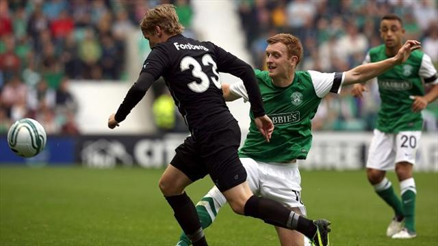Europa League - Malmo humiliate Hibs but St Johnstone scrape through