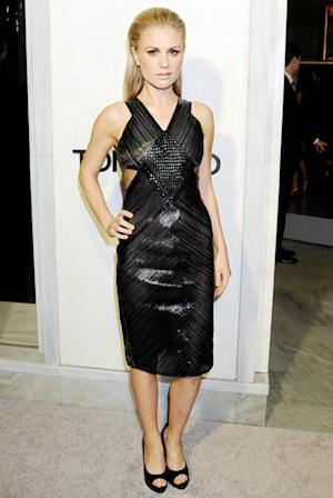 Anna Paquin Reveals Skinny Post-Baby Body in Sexy Cutout Dress Five Months After Giving Birth to Twins