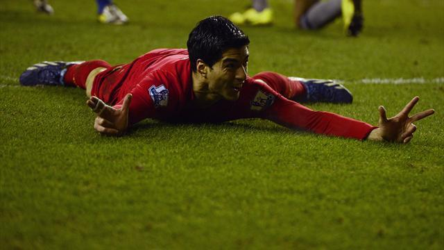 Premier League - Suarez bags three in rout of Wigan