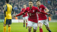 The Spanish midfielder was lauded by his manager after helping Bayern Munich smash Arsenal in the Champions League
