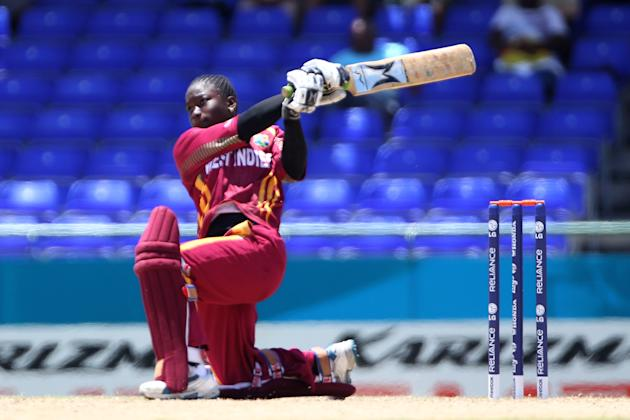 West Indies player Deandra Dottin in 2010: