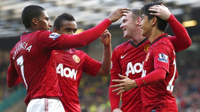 Premier League - Classy Kagawa hits hat-trick for United