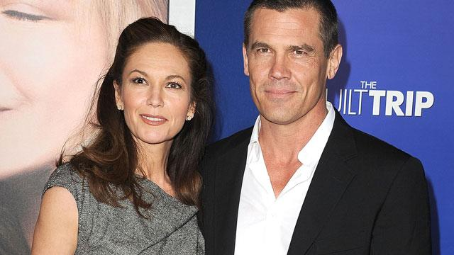 Diane Lane, Josh Brolin Split
