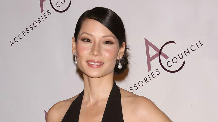 Lucy Liu arrives at the 11th Annual ACE Awards at Cipriani 42nd Street on November 5, 2007.