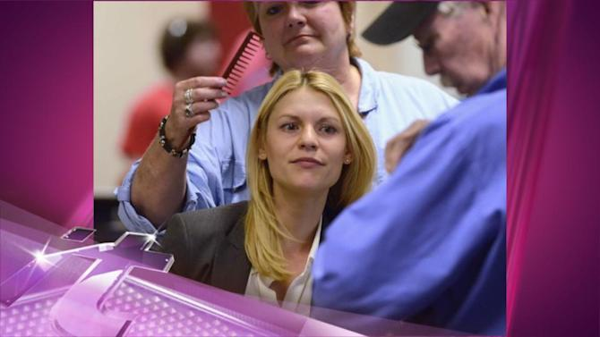 Entertainment News Pop: Claire Danes Brings Son Cyrus to 'Homeland's' Set