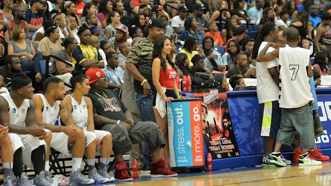 Neuro Drinks At LudaDay Weekend Celebrity Basketball Game