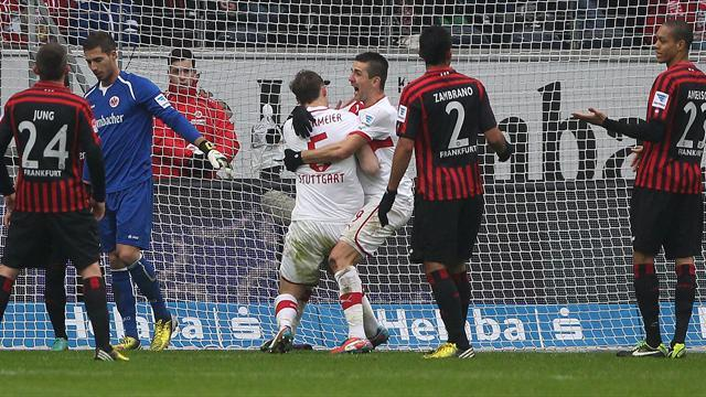 Bundesliga - Eintracht lose despite first goal for over eight hours