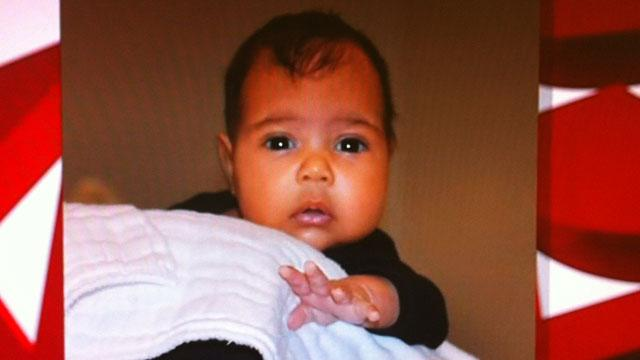 Kanye Unveils Baby North on Kris Jenner's Show!