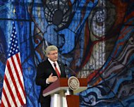 Prime Minister Stephen Harper speaks at the North American Leaders Summit closing press conference in Toluca, Mexico on Wednesday, Feb.19, 2014. THE CANADIAN PRESS/Sean Kilpatrick