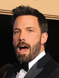 """Actor-director Ben Affleck at the Golden Globes on January 13, 2013 in Beverly Hills. His movie """"Argo"""" recounts the long-classified CIA plot to extract the diplomats by pretending that they are part of a Hollywood film crew scouting for locations for a science fiction flick"""